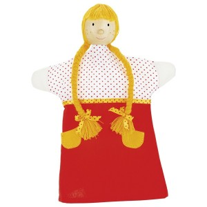 Ročne lutke - zlatolaska