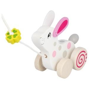 Zajček na vrvici