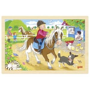Puzzle - Farma ponijev