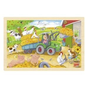 Puzzle - Traktor