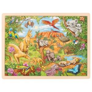 Puzzle - Živali iz Avstralije