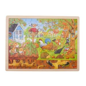 Puzzle - Živali iz vrta