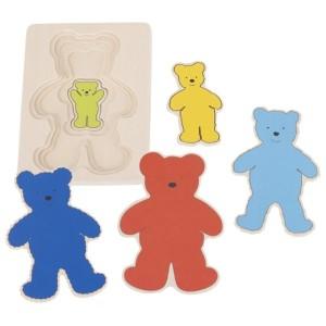 Sestavljanka - Medvedki po velikosti