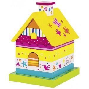 Sestavljanka - Mavrična hiška