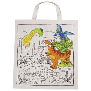 Bombažna vrečka - Dinozavri