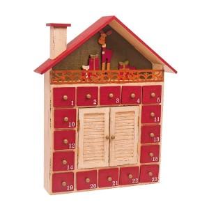 Adventni koledar Zimska hiška