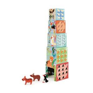 Stolp iz kock - Živali