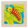 Večplastna sestavljanka - Kako zraste metuljček?