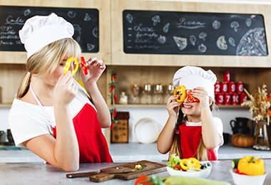 Otroške kuhinje - Masteršef že od malih nog